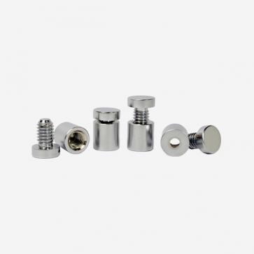 Abstandshalter Aluminium Set 4 Stück 13x13mm