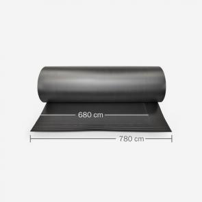 Schwarze PVC-Platten für Präsentationswand 0016 bei reproplan