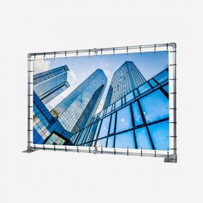 Präsentationswand (Alu. 48x3mm) bei reproplan