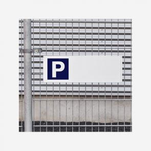 Parkplatzschild 60x20 cm bei reproplan