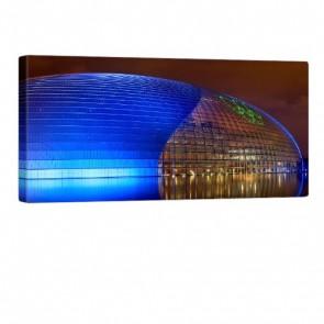 Beijing Theatre Leinwandbild 100x50cm