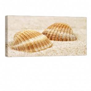 Beach Feeling Leinwanddruck 100x50cm