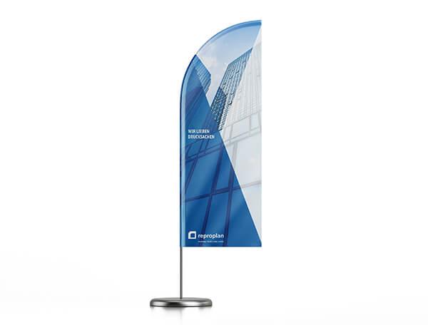 individuelle Beachflags Produktbild