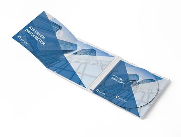 Produktbild eines individualisierten Drucks mit Softcover von Reproplan